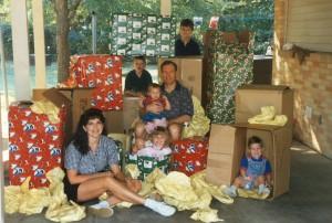 The Kay Family, Christmas on the Move, 1995