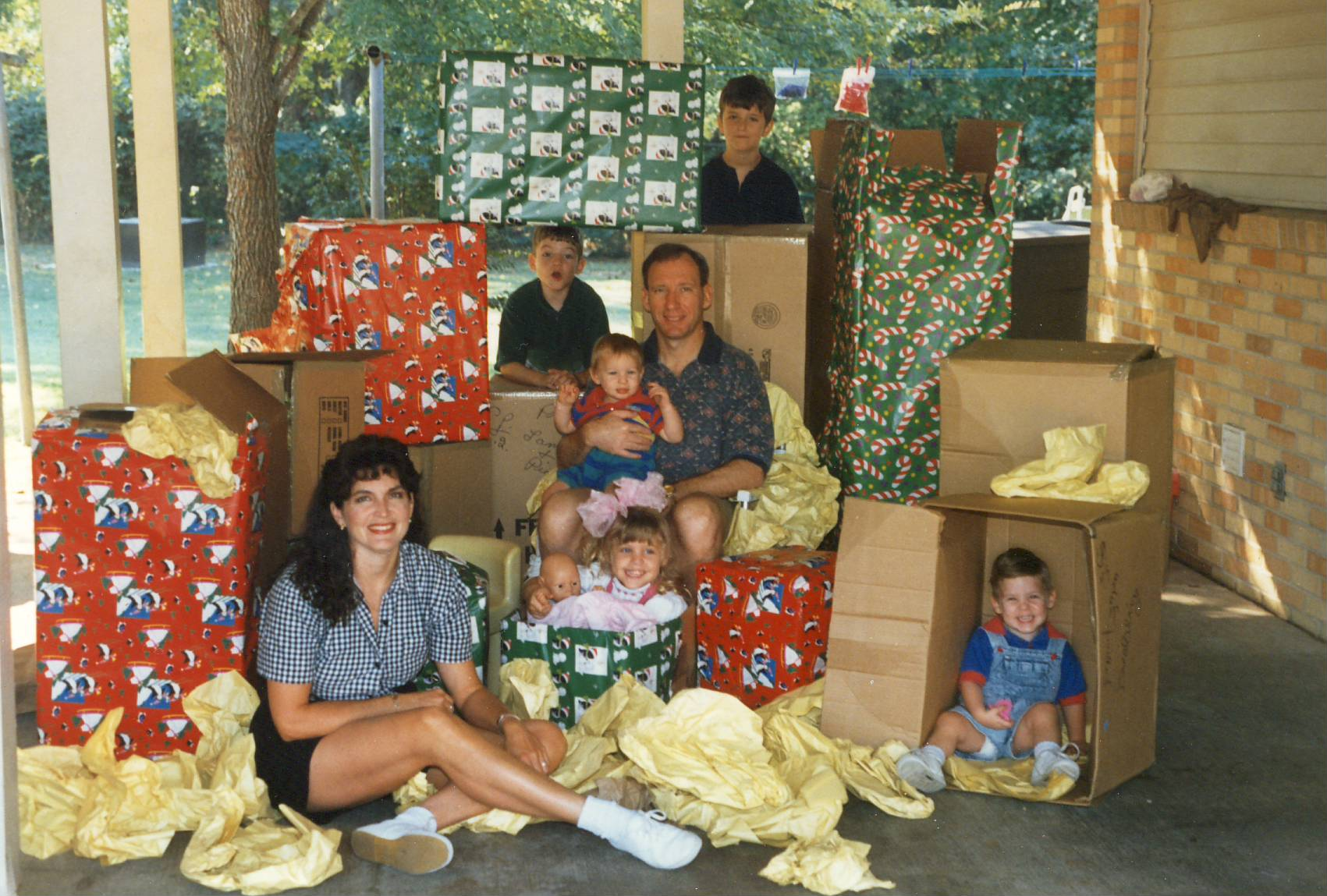 The Kay Family, Christmas on the Move, 1995