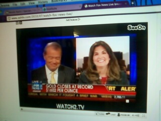 Ellie Kay on Fox News Neil Cavuto - Aug 2011