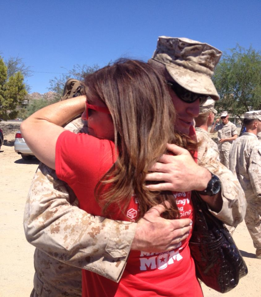 Our Marine Comes Home From Afghanistan