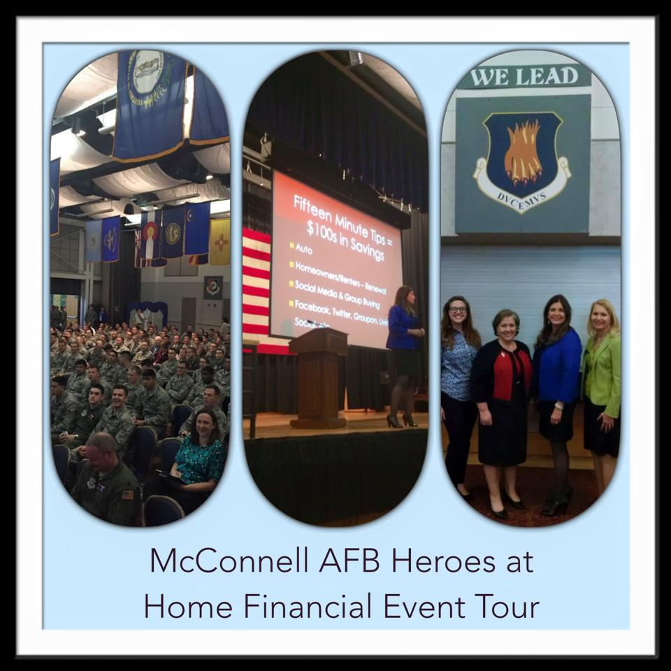 McConnell AFB Heroes at Home Financial Event