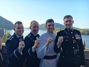 Kay Military Men Ring Weekend